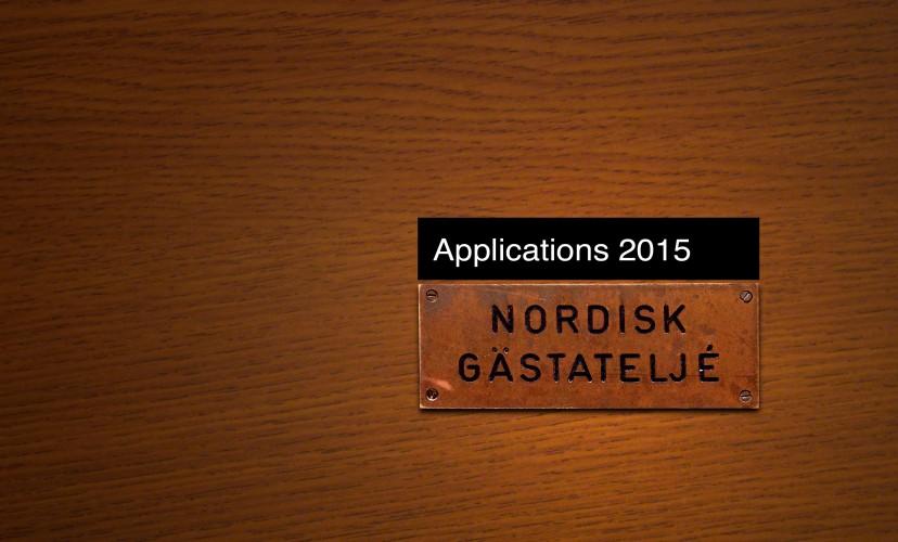 applications Nordic Guest Studio