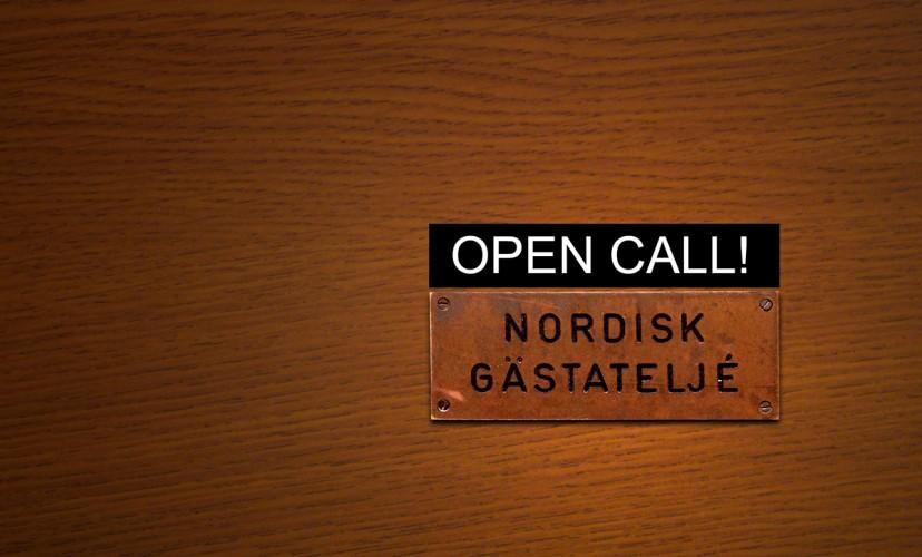 Open call 01/09