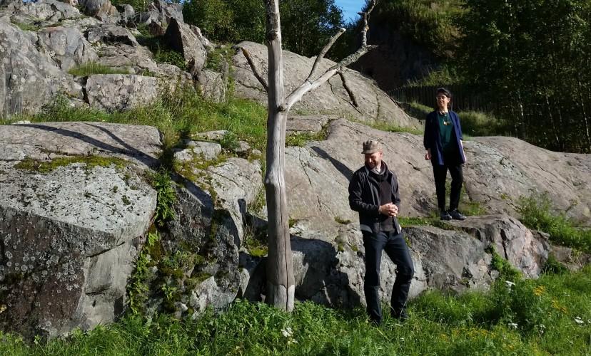 Marina Valle Noronha and Juha Huuskonen
