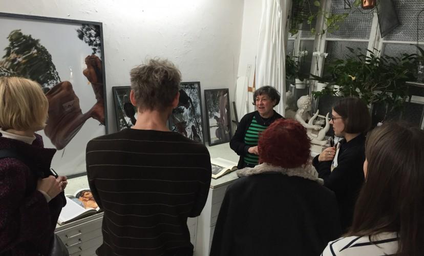 Studio visit Dascha Esselius