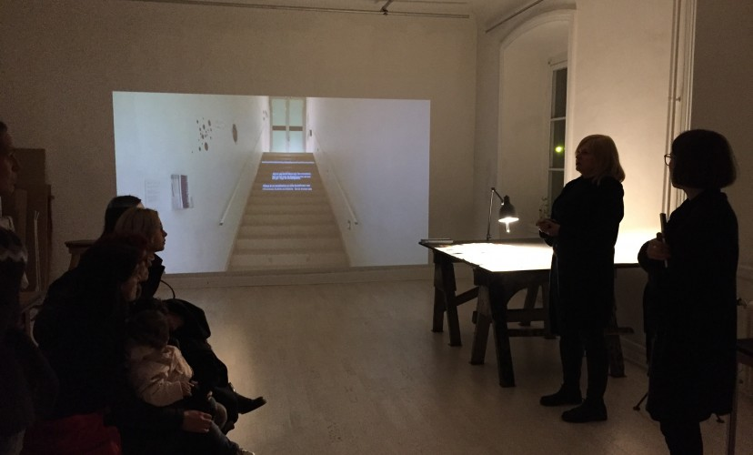 Studio visit Katarina Eismann