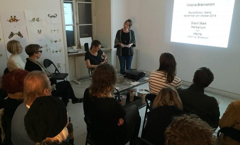 Artist talk with Victoria Brännström and Ingirafn Steinarsson