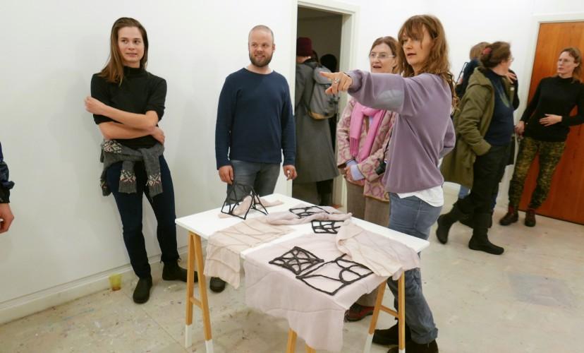Signals with Isabel Carvalho (PT), Jelena Rundqvist (SE) and Liv Strand (SE)