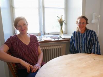 Isabel Carvalho (PT) and Liv Strand (SE)